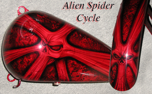 alien spider cycle