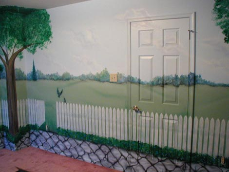 Nursery - West Wall