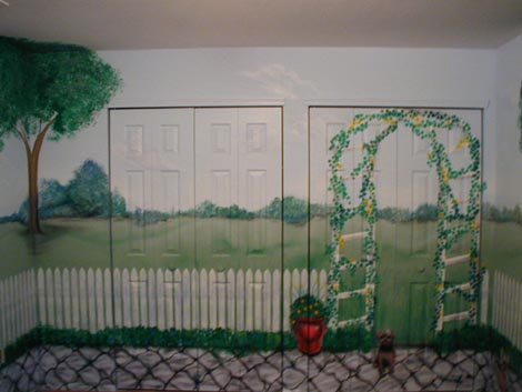 Nursery - North Wall